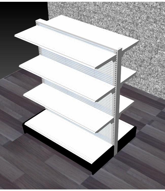 Double-Sided units | gondola Display, section 48'' x  60'' W  x 16'' base