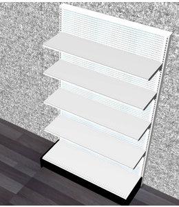 "Single-sided shelving units | 84H"" x 48""W x 16"" Base"