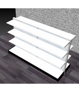 Double-Sided units | 60''H x 96''W x 16''B, PRICE UPON REQUEST