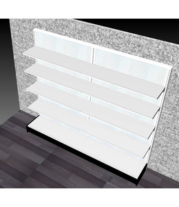 """Single-sided shelving units 