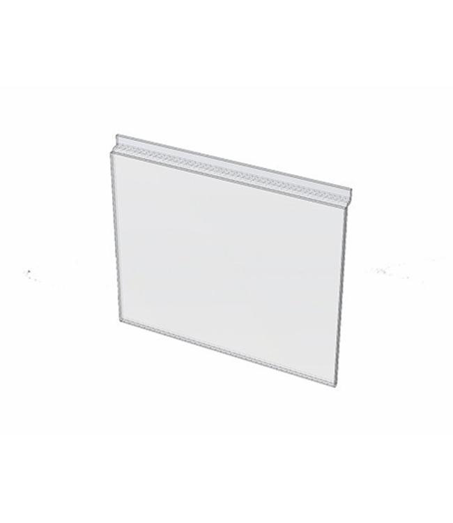 """Porte-affiche 8-1/2"""" x 11""""H  pour slatwall, acrylique"""