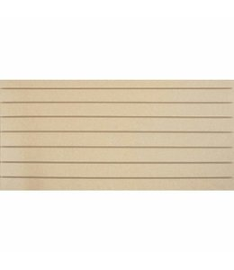 """Slatwall Panel 96""""x 48''H grooved on the 96"""", non painted"""