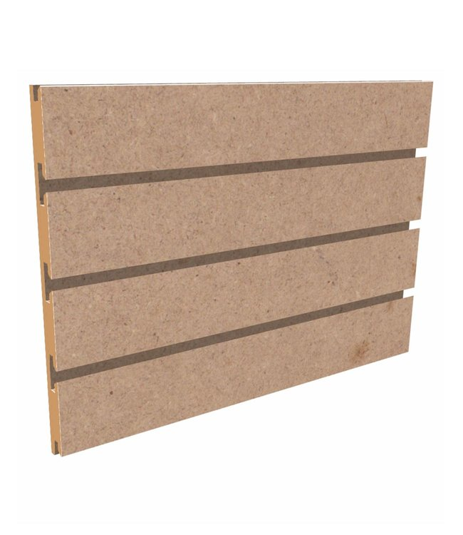 """SSlatwall Panel 96""""x 48''H grooved on the 96"""", non painted"""