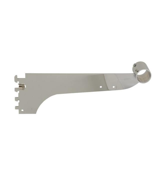 "Hangrail bracket for round tubing 1"" & 1-1/16"", 12"" long"