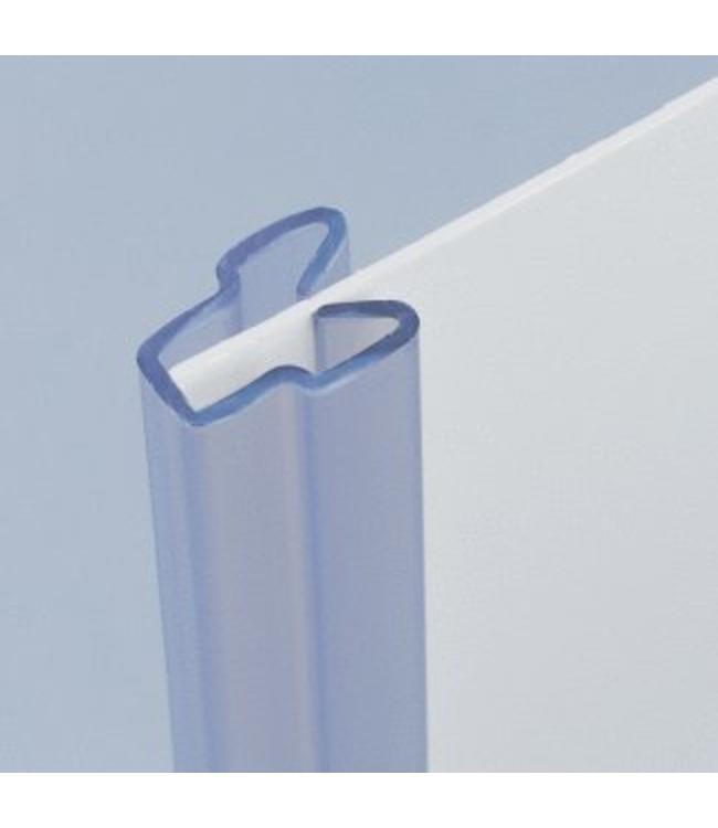 Moulure de plastique pour matériau jusqu'à 0.125'' d'épaisseur