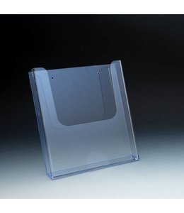 "Wallmount/SW/slatgrid brochure holder 8-7/8'' X 1-11/16'' X 9-1/2""H"