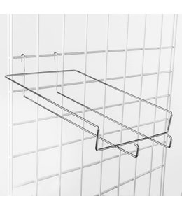 "Shelf wire for 6 baseball cap for grid 8.5"" x 14"""
