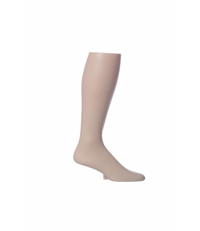 """Présentoir pour chaussette, Pied homme en plastique PEAU 17-3/4""""h"""
