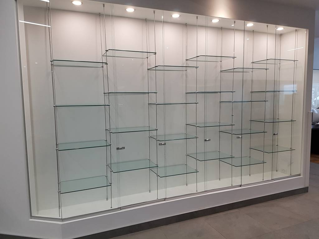 Custom glass display