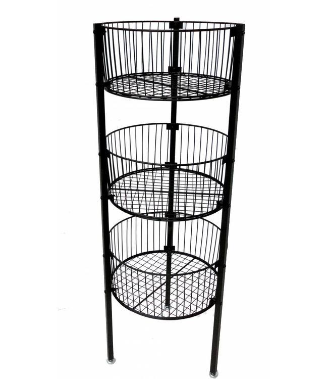 3 levels basket