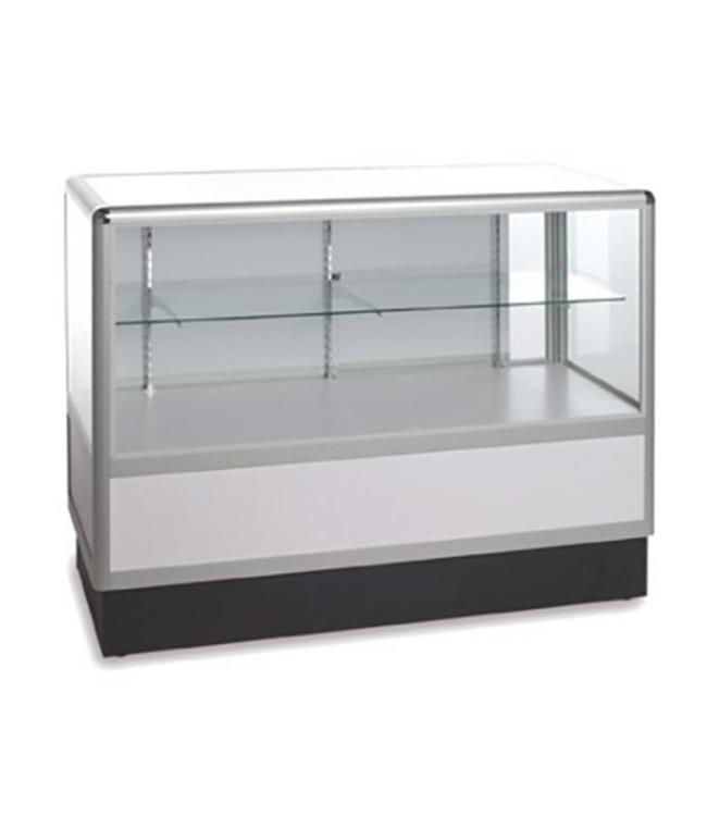 2/3 vision glass counter aluminum