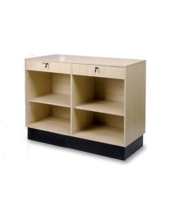48'' melamine service counter