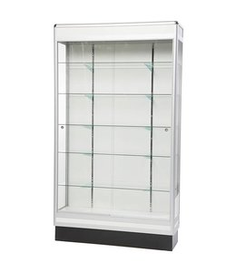 "48"" x 14"" x 84""H wall display case"