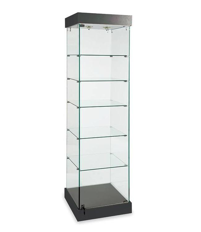 "72""H Glass display tower"
