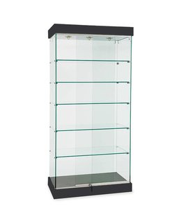 "36"" x 20"" X 76"" H wall or central display case"