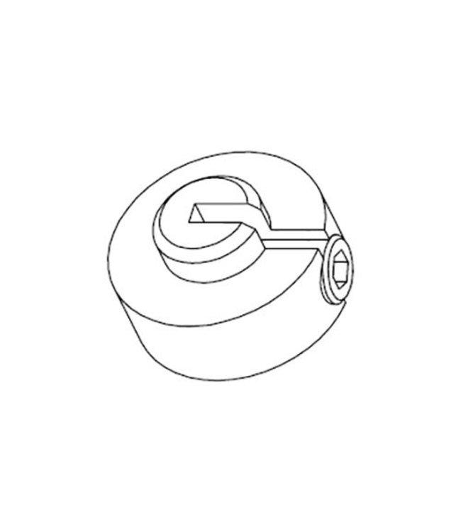 Support pour tablette perforée de 6 à 8 mm