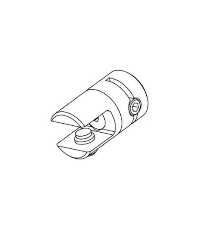 Support simple pivotant pour tablette ou panneau jusqu'à 8mm