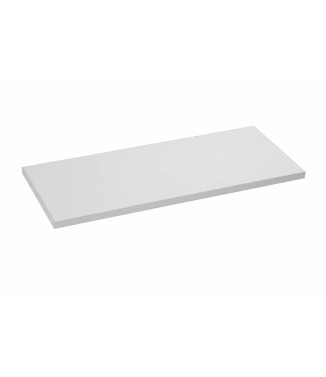 Melamine shelf black or white