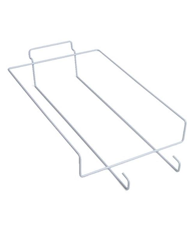 "Shelf wire for 6 baseball cap for slatwall 8.5"" x 14"""
