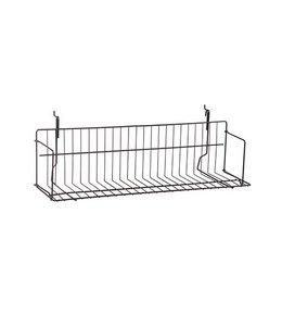 "Shelf wire 6"" x 6"" x 24'' or 48'' for slatwall"