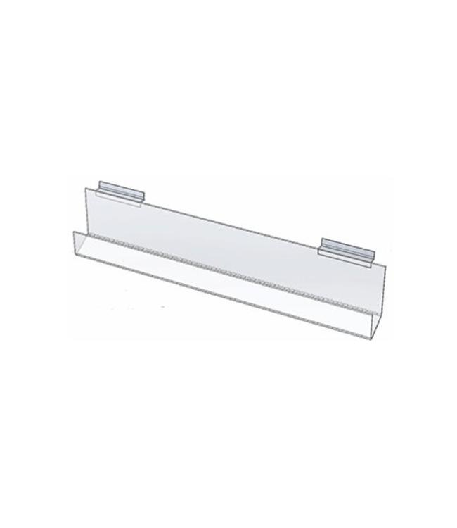"""Card display 12"""" or 24"""" wide for slatwall or wallmount"""