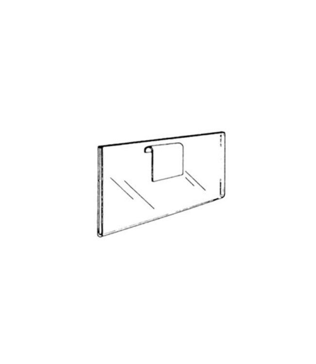 """Porte affiche 11"""" x 7""""H pour grille"""