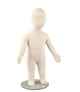 """Mannequin enfant flexible, 1 an, 25.5""""H lin"""