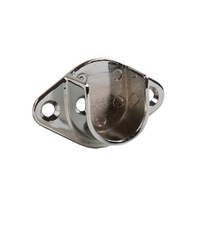 Open flange for round hangrail 1''