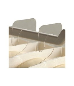 """Cluster tab 7/8"""" x 1-3/8"""",  thickness 0.015"""""""