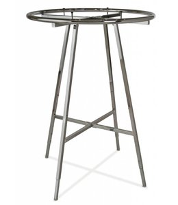 "Round rack foldable 36"" ou 42"" diametre chrome"