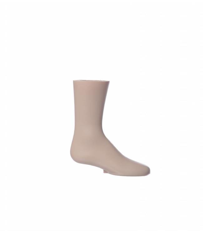 """Child's foot FLESHTONE 8""""H, plastic"""