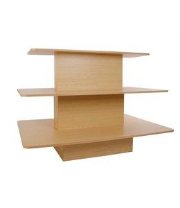 """Table rectangulaire 3 niveaux 60""""X42""""X42""""H"""