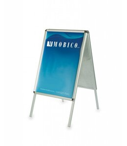 3915 Foldable double side sign holder