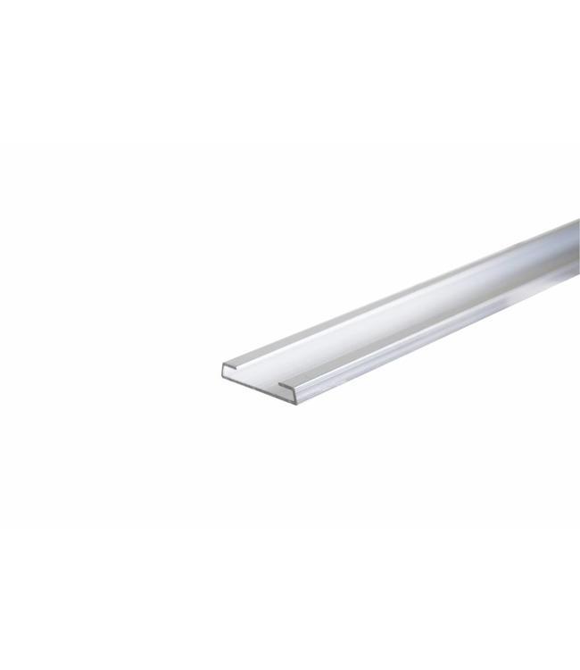"""Insertion de 96"""", renfort d'aluminium pour slatwall régulier"""