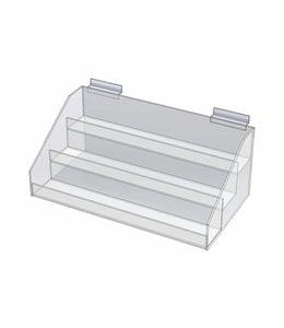 Présentoir 3 niveaux 15''x8''x6' H, comptoir/slatwall