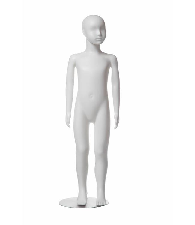 """Mannequins enfant plastique 3-4 ans blanc 43-1/4""""H"""