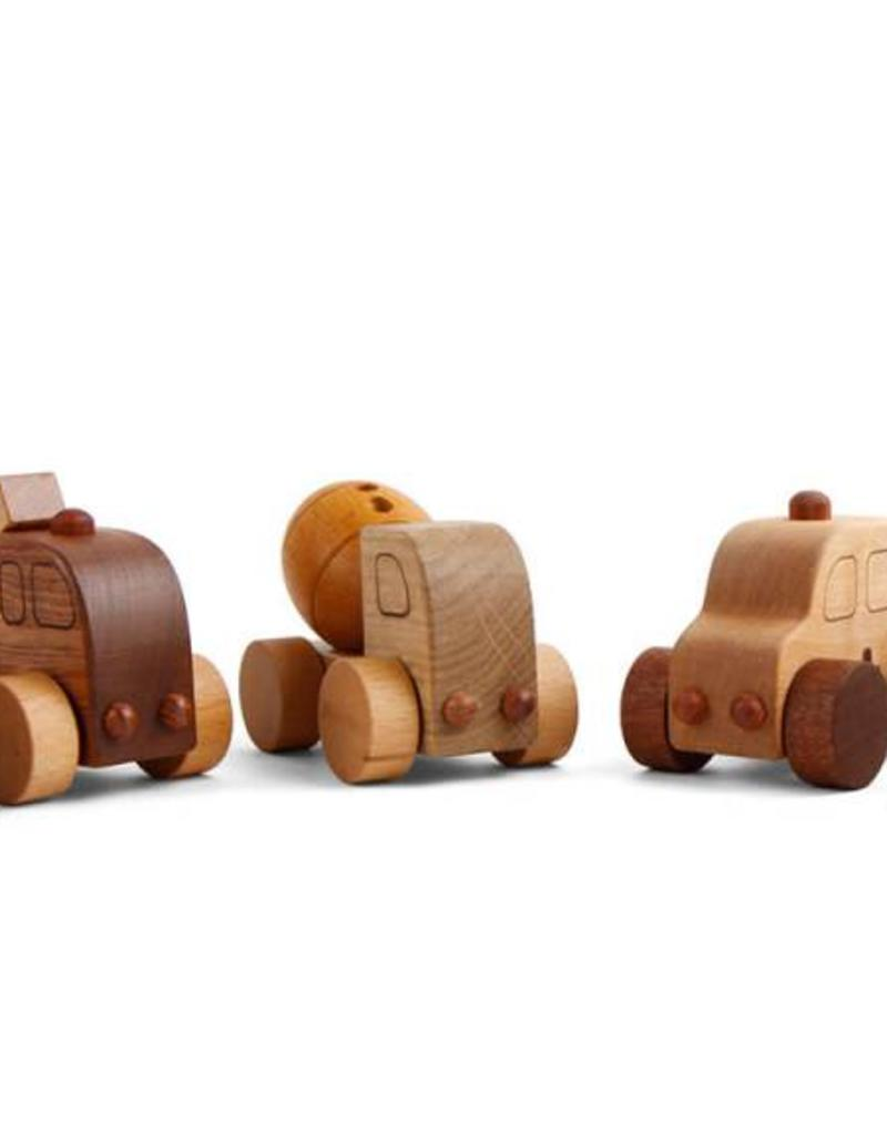 Beyond 123 Wooden Car Village