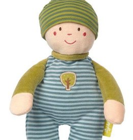 Sigikid Organic Gnome Cuddle Toy - blue