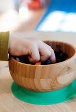 Avanchy Avanchy Bamboo Suction Baby Bowl + Spoon