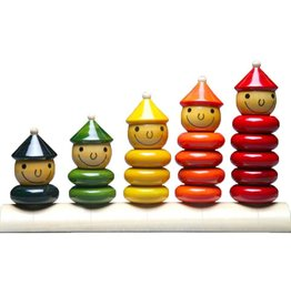 Baby Baazaar Peppy Five Wood Stacking Toy