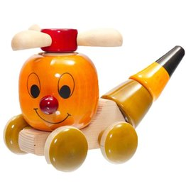 Baby Baazaar Chip Chop Wood Toy Helicoptor