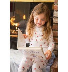 Skylar Luna Snowman Long Sleeve Pajamas