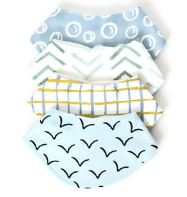 Dolly Lana Baby Bandana Bib - Four Bib Set
