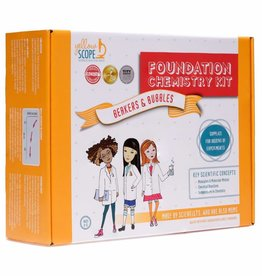 Yellow Scope Chemistry Kit Foundation Chemistry Kit: Beakers & Bubbles