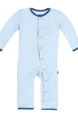 Kickee Pants Applique Coverall -Snap Newborn
