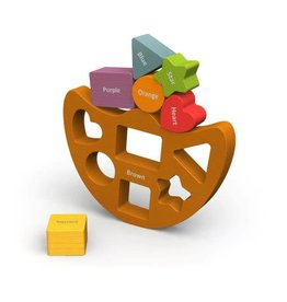 BeginAgain Balance Boat Shapes & Colors