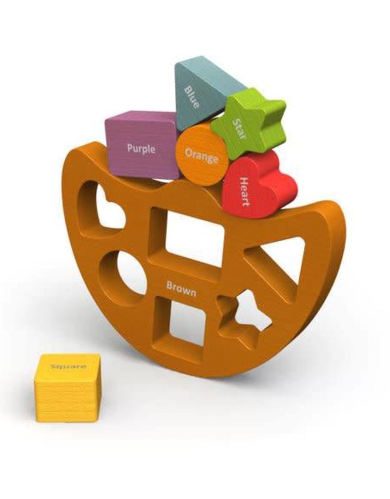 BeginAgain Balance Boat Shapes & Colors