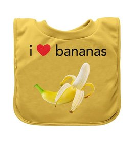 Green Sprouts Favorite Food Absorbent Bibs Bananas