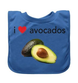 Green Sprouts Favorite Food Absorbent Bibs Avocados