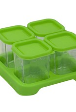 Green Sprouts Glass Food Cubes 4 oz.